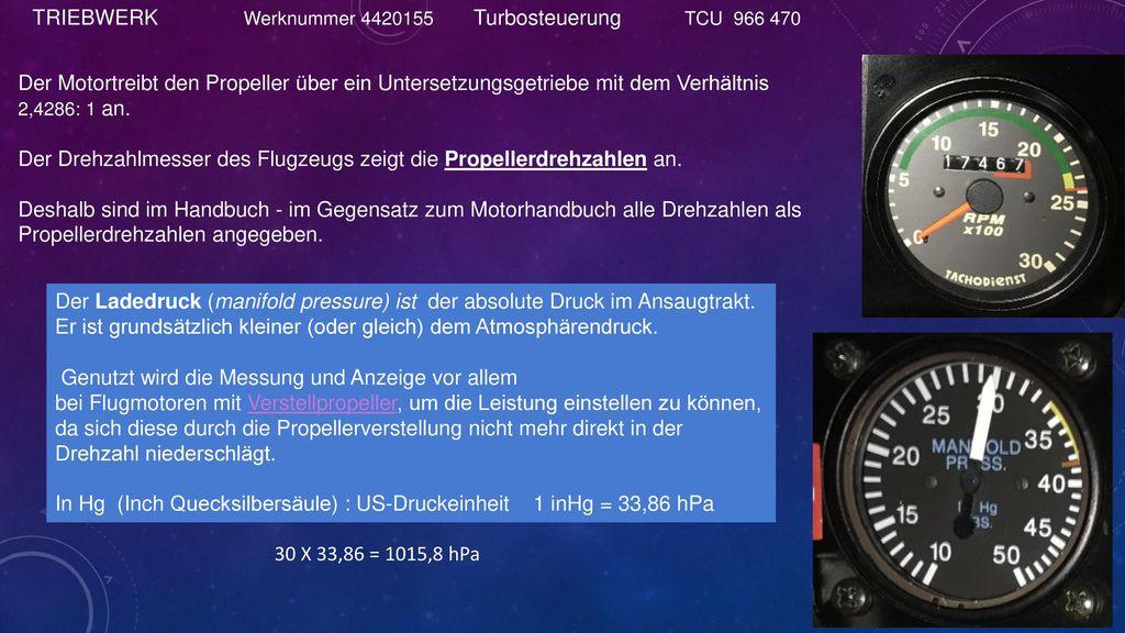 TRIEBWERK Werknummer 4420155 Turbosteuerung TCU 966 470.