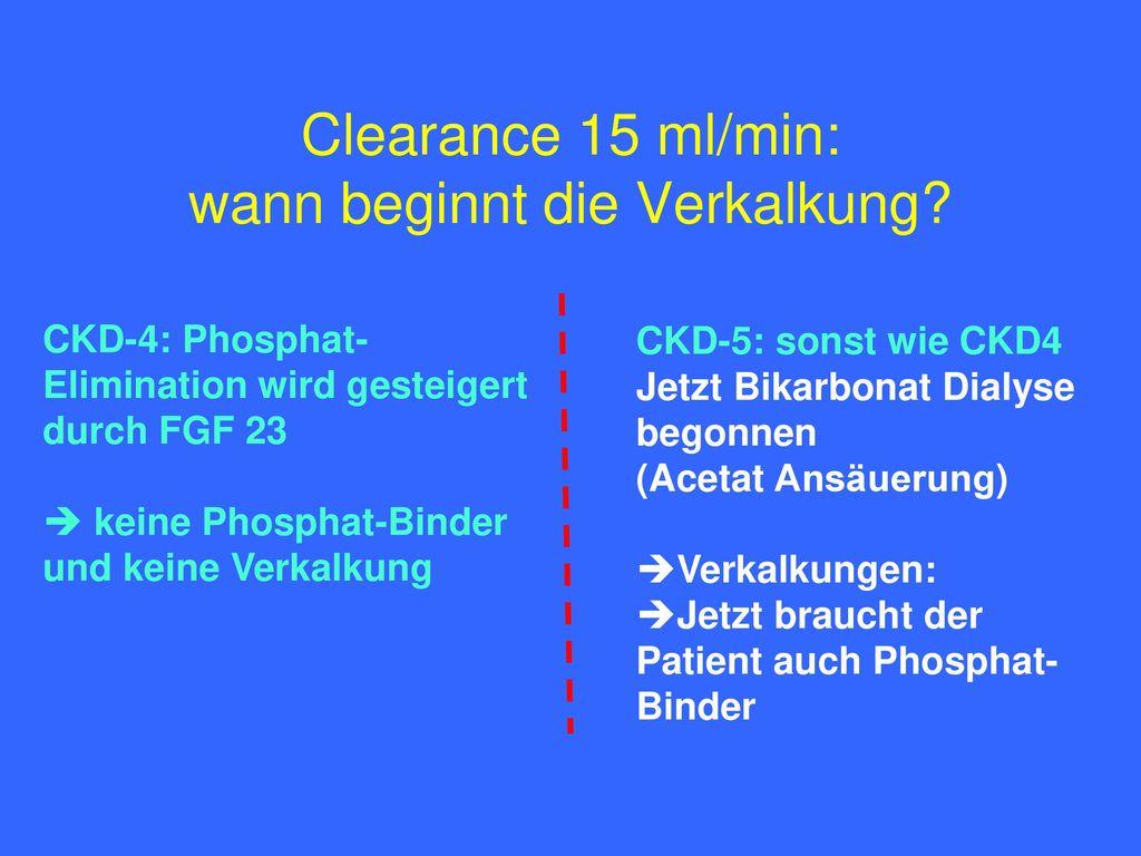 Die verkalkende Dialysierflüssigkeit - - ppt herunterladen