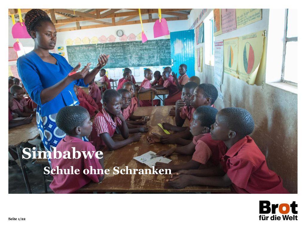 Simbabwe Schule ohne Schranken 1