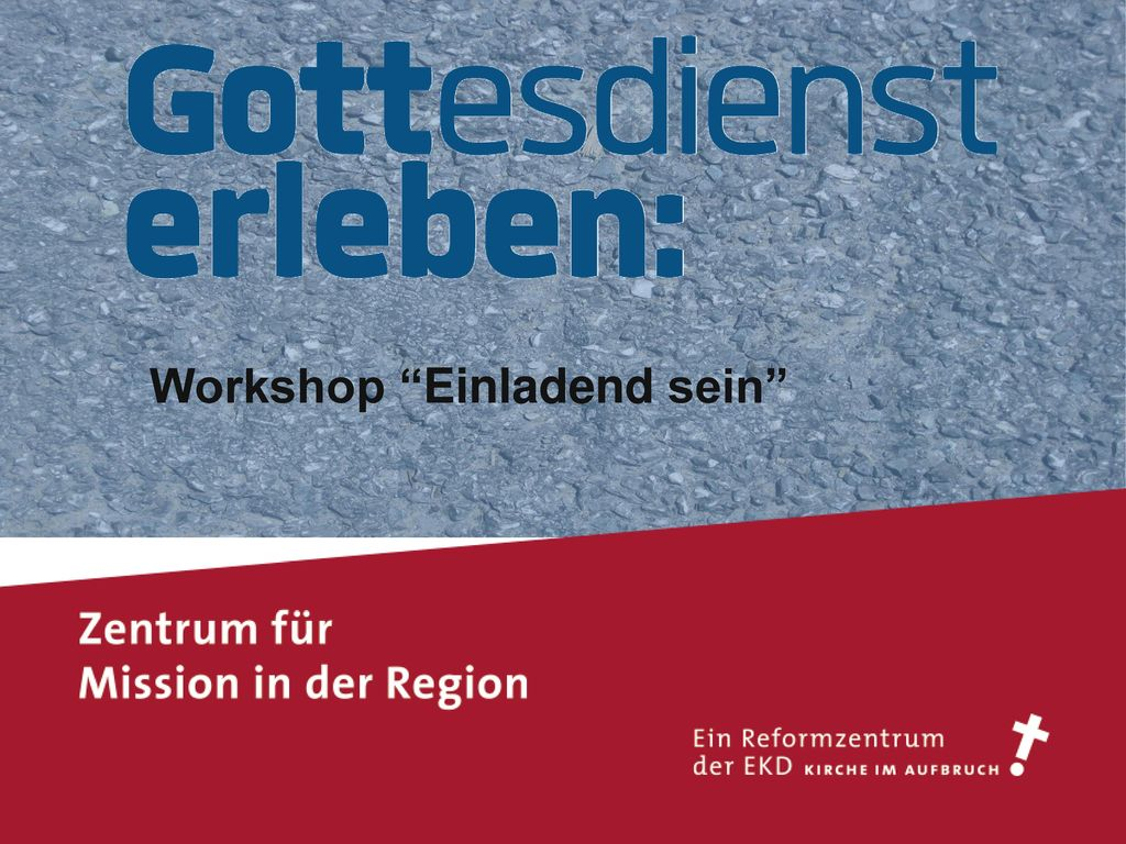Workshop Einladend sein