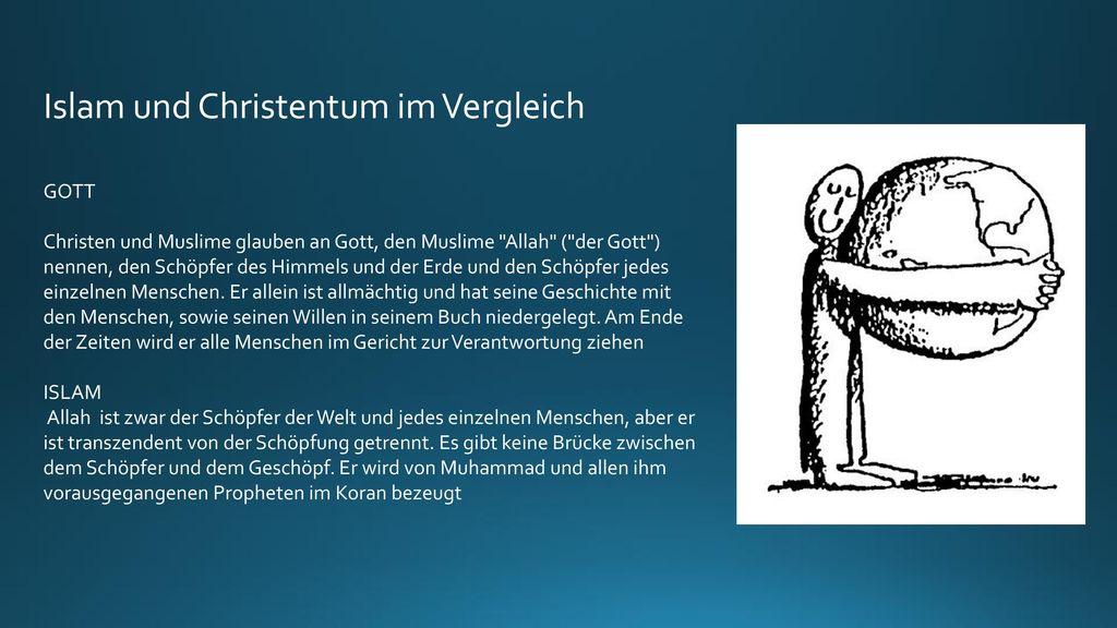 Islam und Christentum im Vergleich