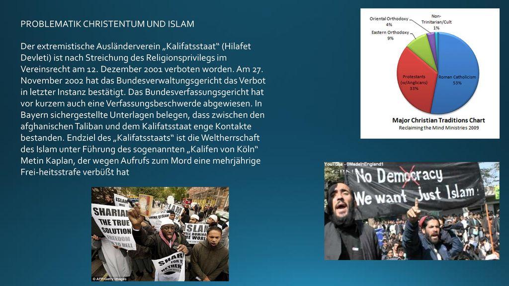 PROBLEMATIK CHRISTENTUM UND ISLAM