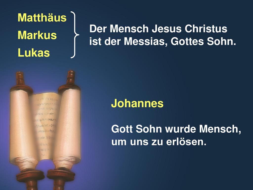 Matthäus Markus Lukas Johannes
