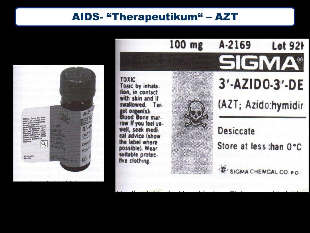 AIDS- Therapeutikum – AZT