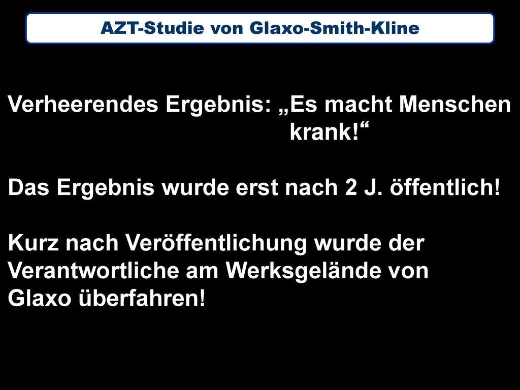 AZT-Studie von Glaxo-Smith-Kline