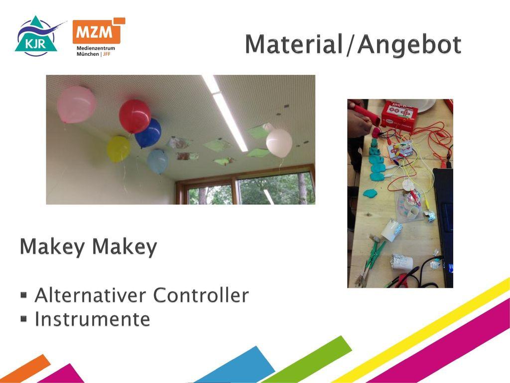 Material/Angebot Makey Makey Alternativer Controller Instrumente