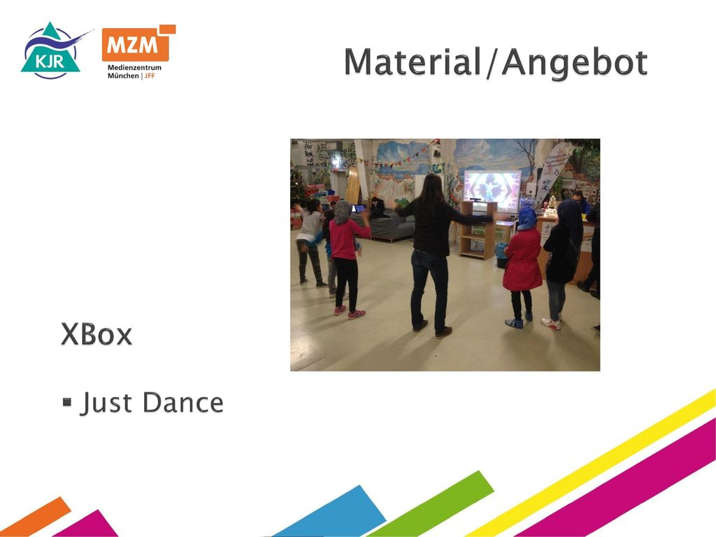 Material/Angebot XBox Just Dance
