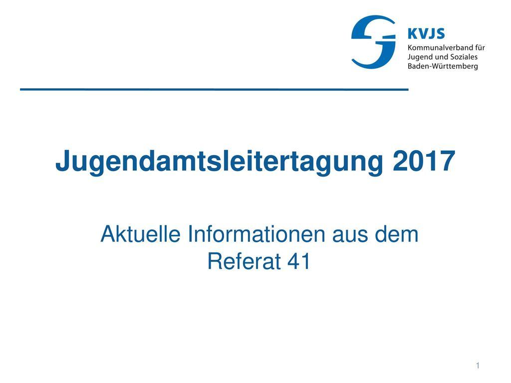Jugendamtsleitertagung 2017