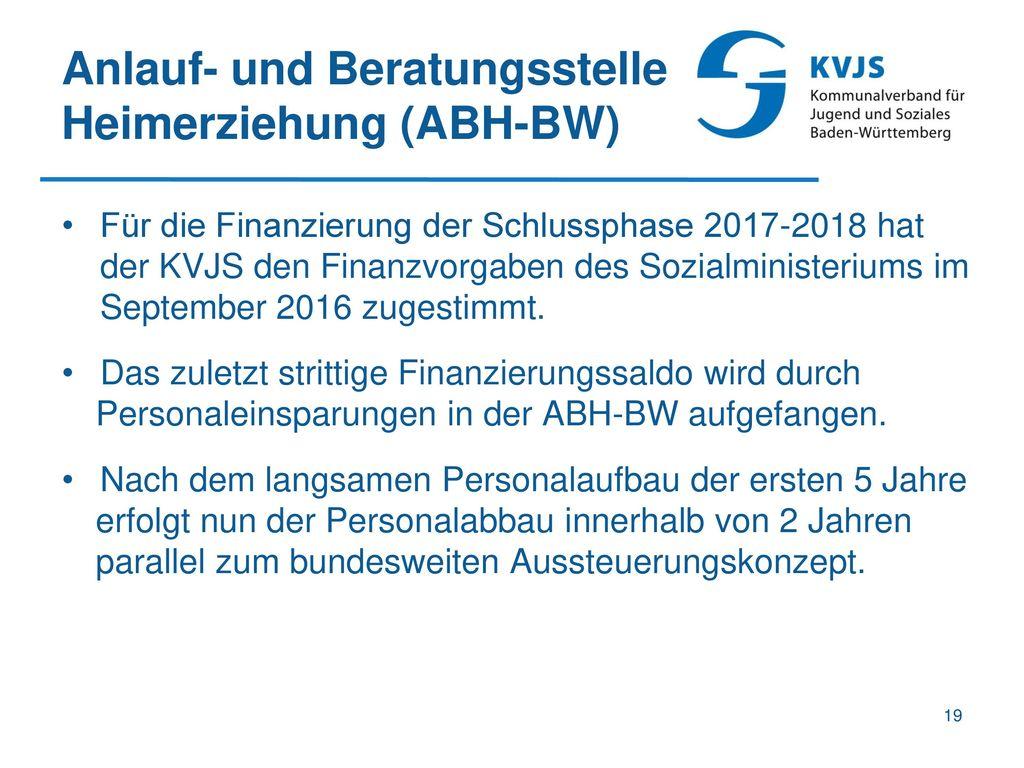 Anlauf- und Beratungsstelle Heimerziehung (ABH-BW)