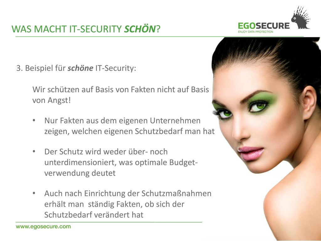 Was macht IT-Security schön