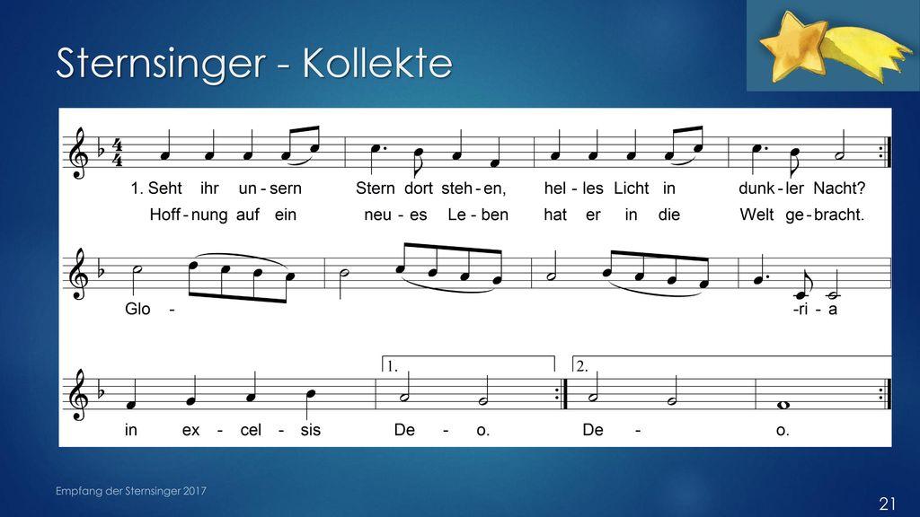Sternsinger - Kollekte