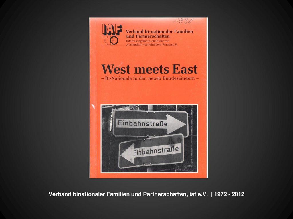 Verband binationaler Familien und Partnerschaften, iaf e. V