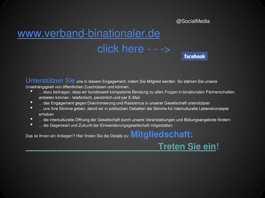 www.verband-binationaler.de click here - - -> Treten Sie ein!