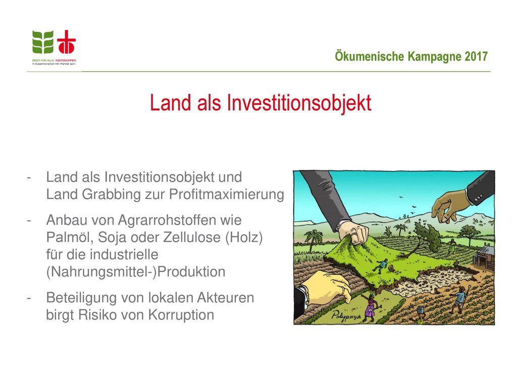 Land als Investitionsobjekt