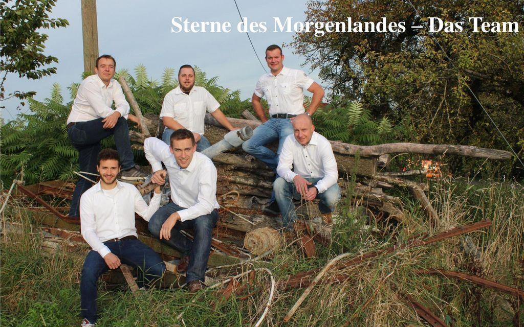 Sterne des Morgenlandes – Das Team