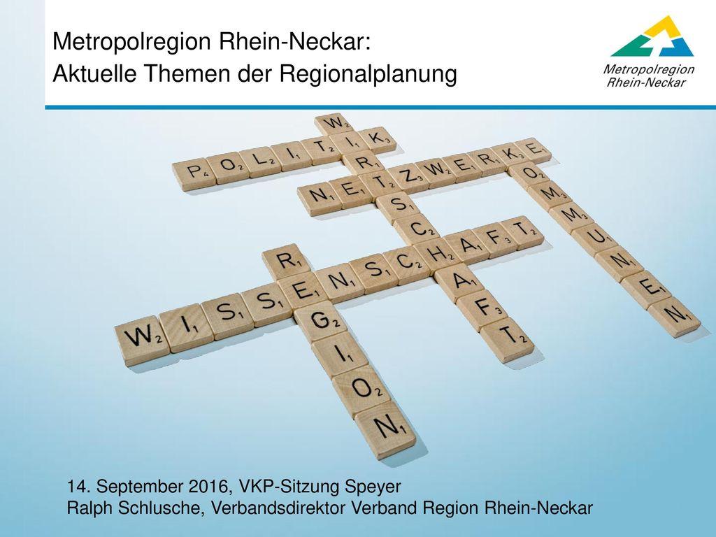 Metropolregion Rhein-Neckar: