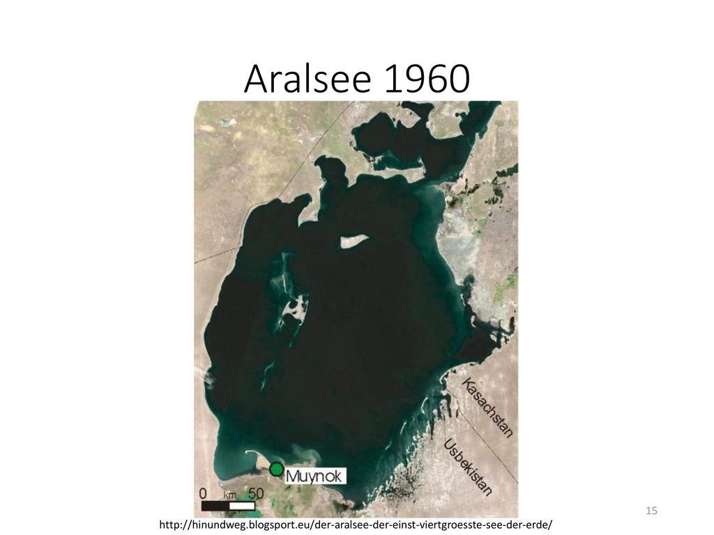 Aralsee 1960 http://hinundweg.blogsport.eu/der-aralsee-der-einst-viertgroesste-see-der-erde/