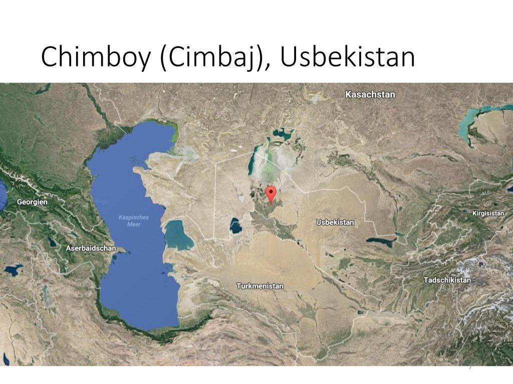 Chimboy (Cimbaj), Usbekistan