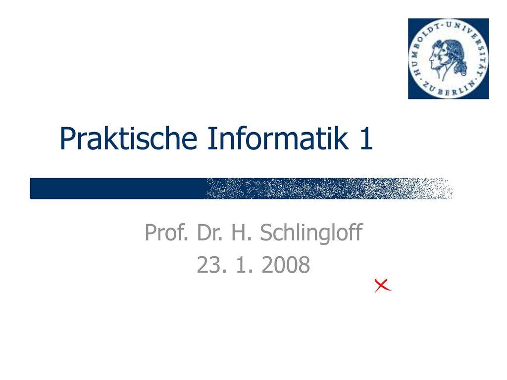 Praktische Informatik 1