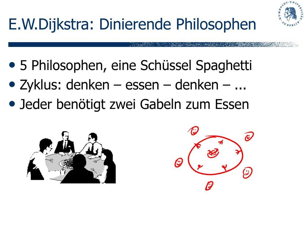 E.W.Dijkstra: Dinierende Philosophen