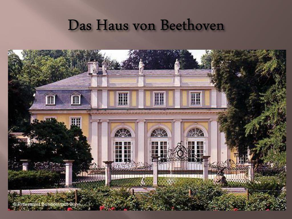 Das Haus von Beethoven