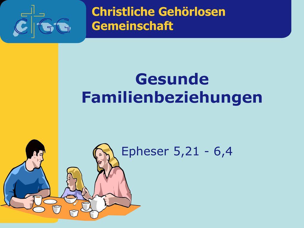 Gesunde Familienbeziehungen