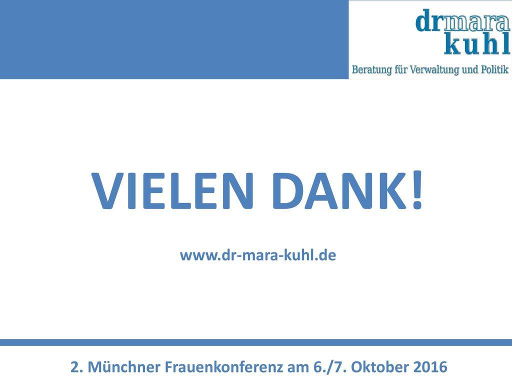 VIELEN DANK! www.dr-mara-kuhl.de