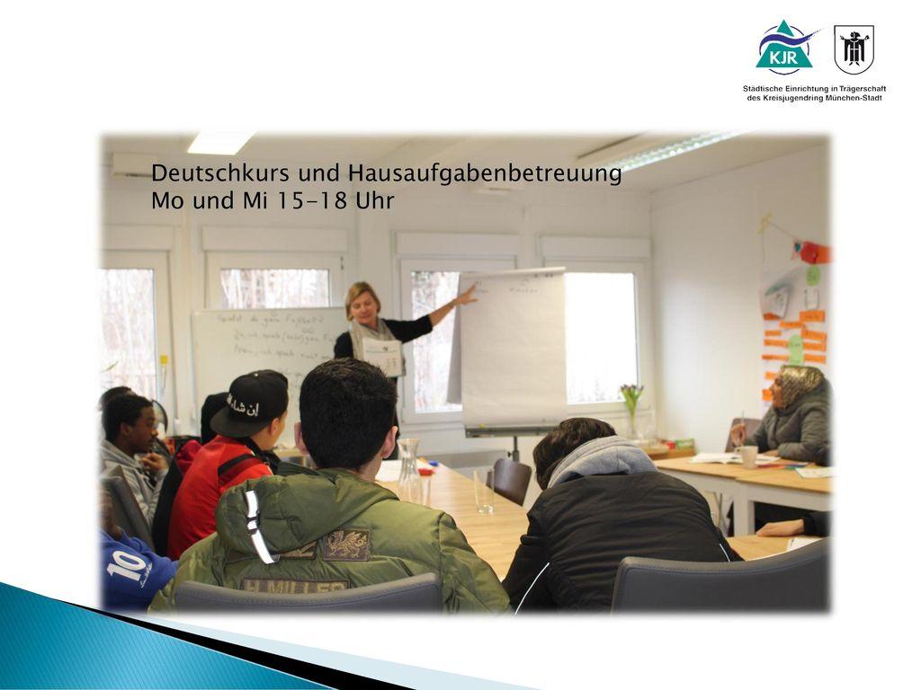 Deutschkurs und Hausaufgabenbetreuung
