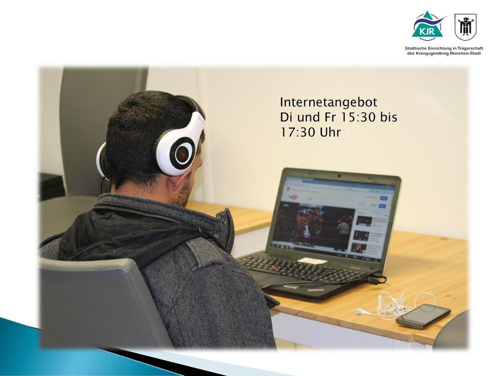 Internetangebot Di und Fr 15:30 bis 17:30 Uhr