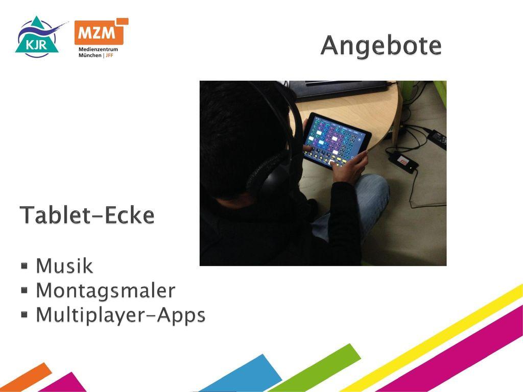 Angebote Tablet-Ecke Musik Montagsmaler Multiplayer-Apps