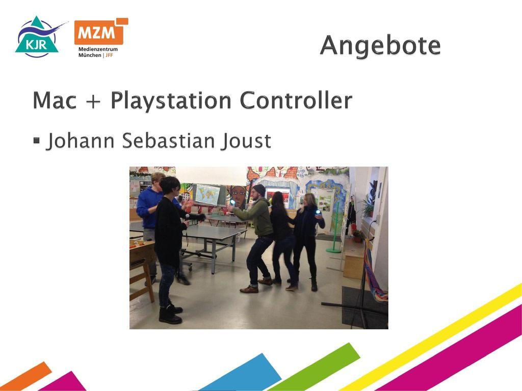 Angebote Mac + Playstation Controller Johann Sebastian Joust