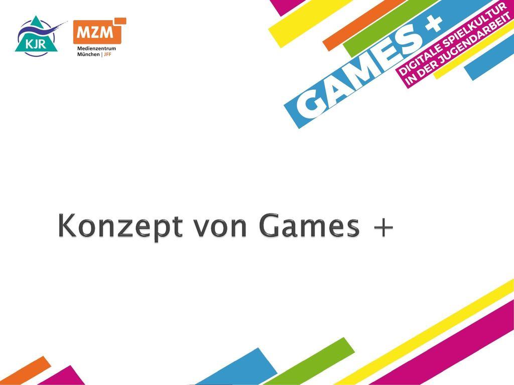 Konzept von Games + Oskar