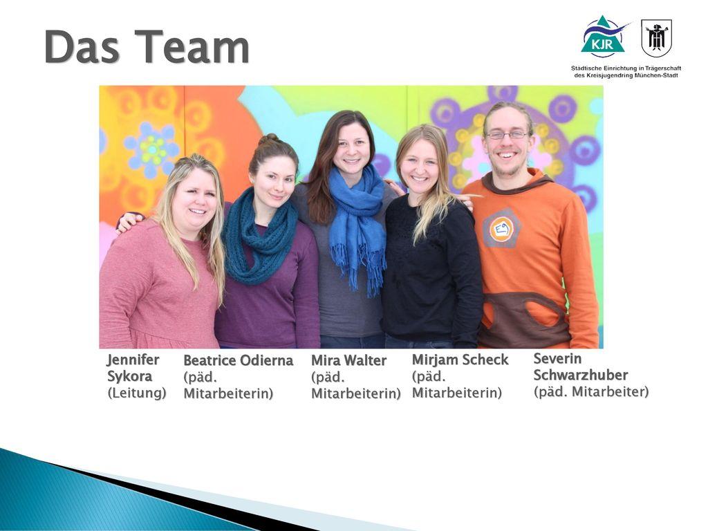Das Team Jennifer Sykora (Leitung) Beatrice Odierna