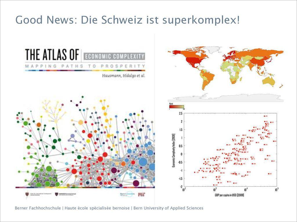 Good News: Die Schweiz ist superkomplex!