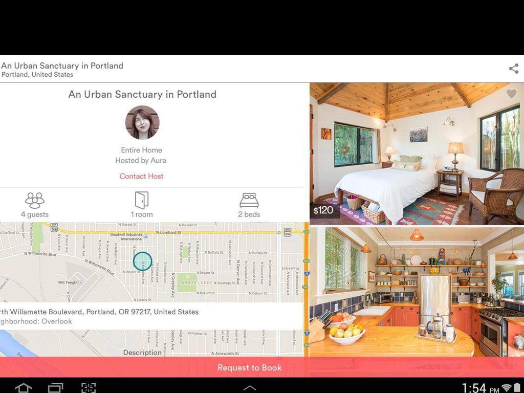 Zur Illustration wie airbnb funktioniert