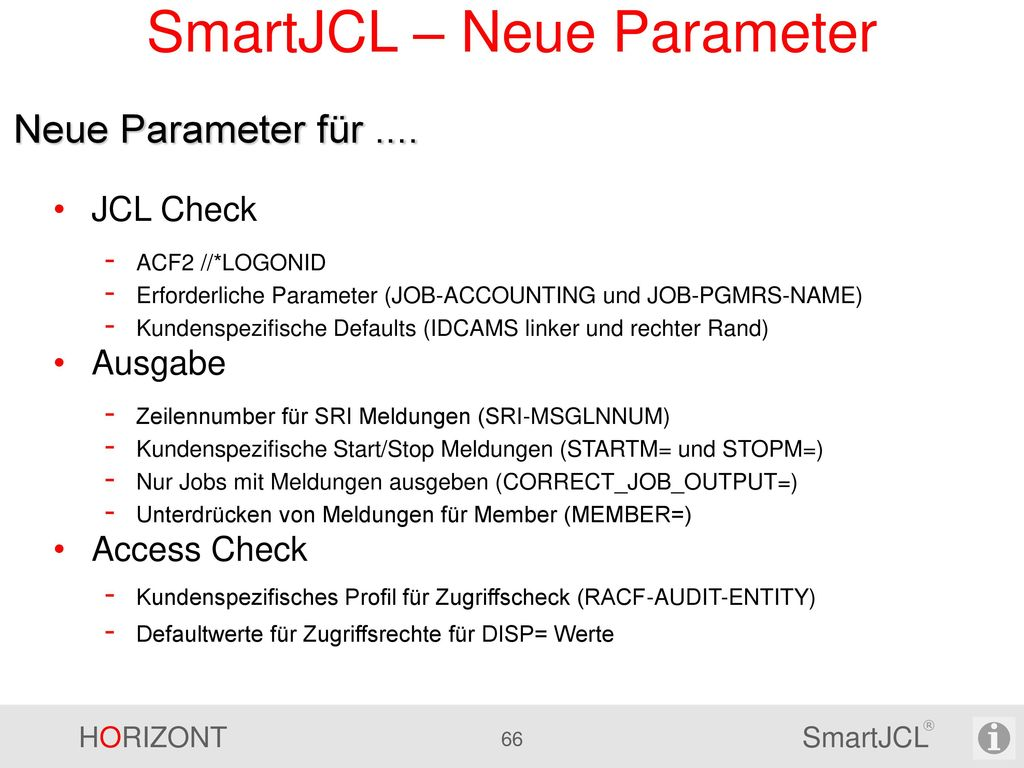 SmartJCL - Simulations-TWS