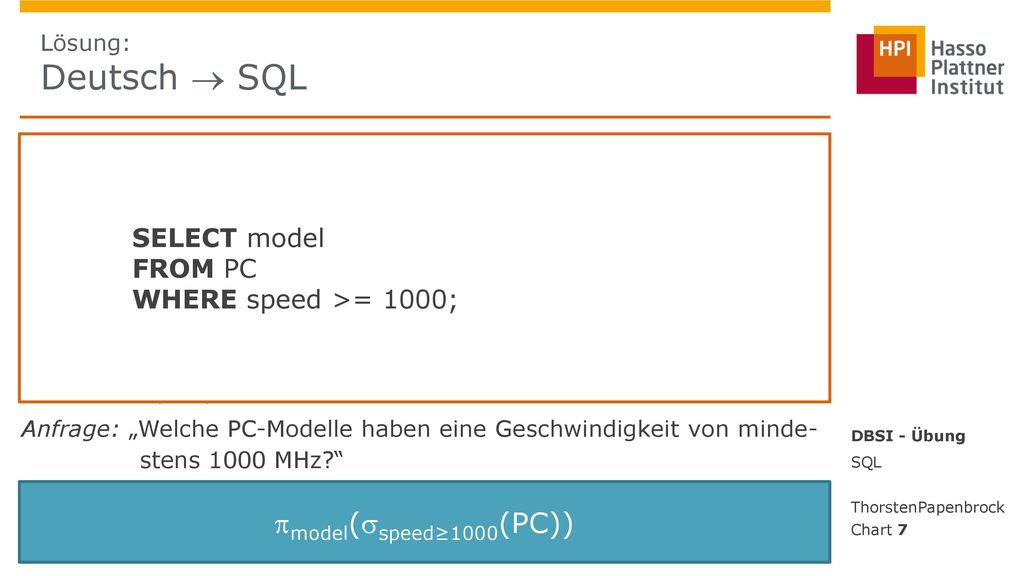 model(speed≥1000(PC)) SELECT model FROM PC WHERE speed >= 1000;