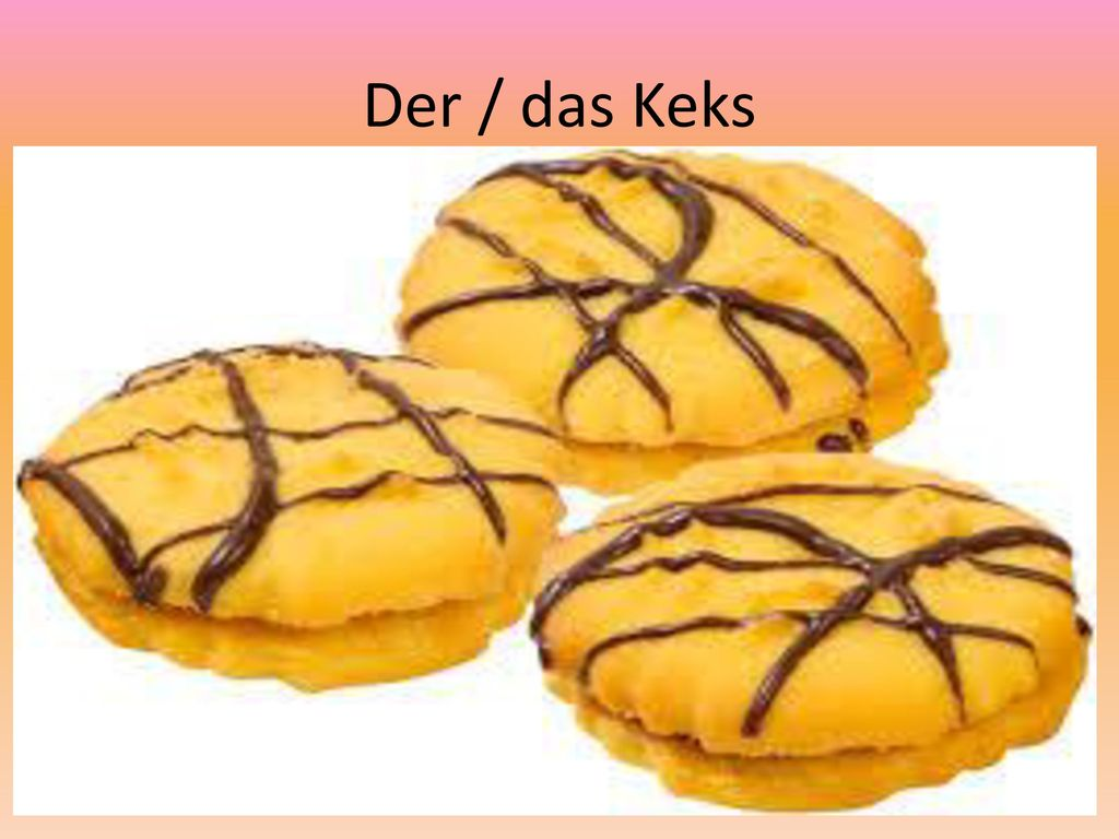 Der / das Keks