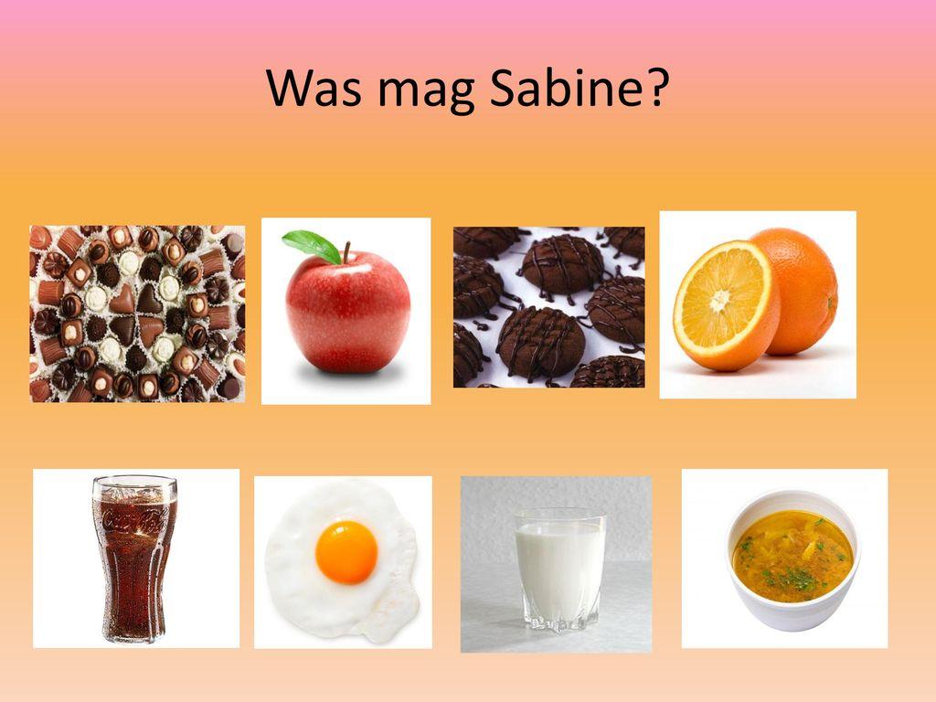 Was mag Sabine