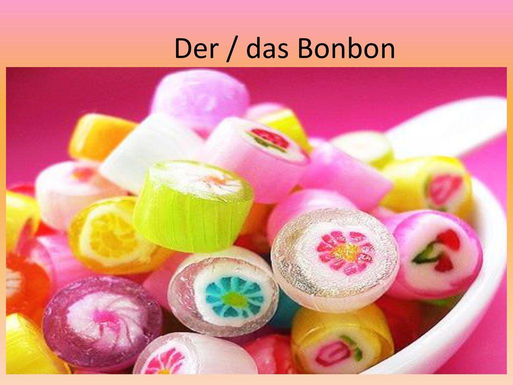 Der / das Bonbon