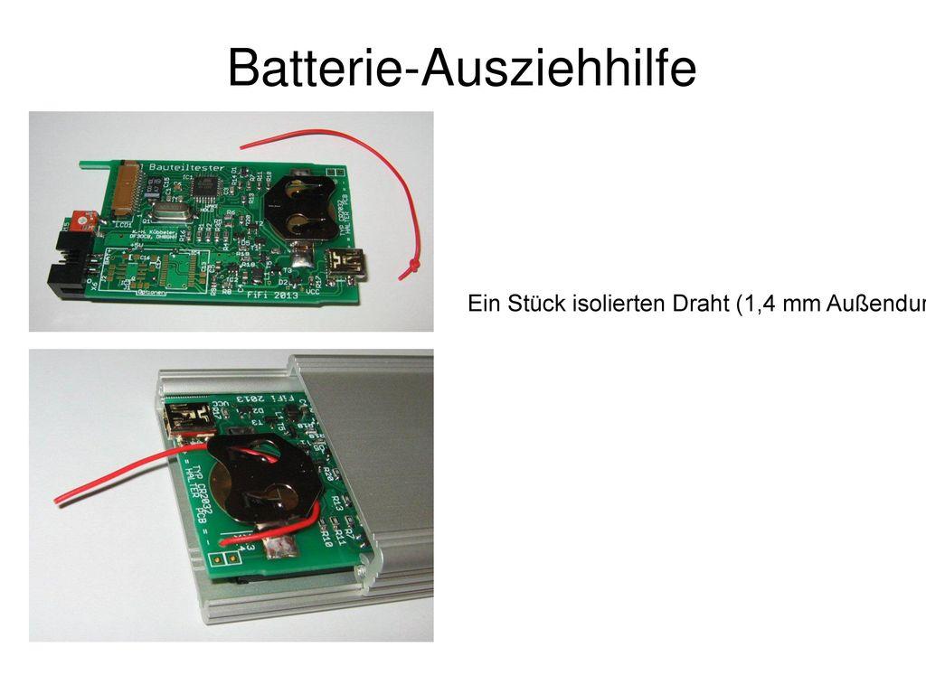 Batterie-Ausziehhilfe