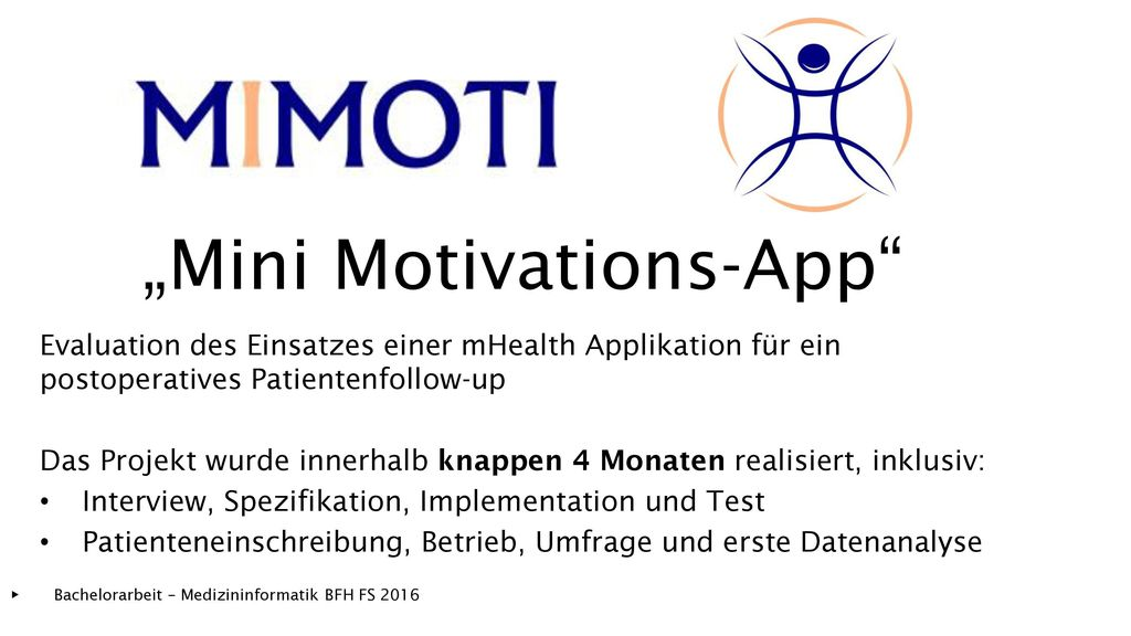 """Mini Motivations-App"