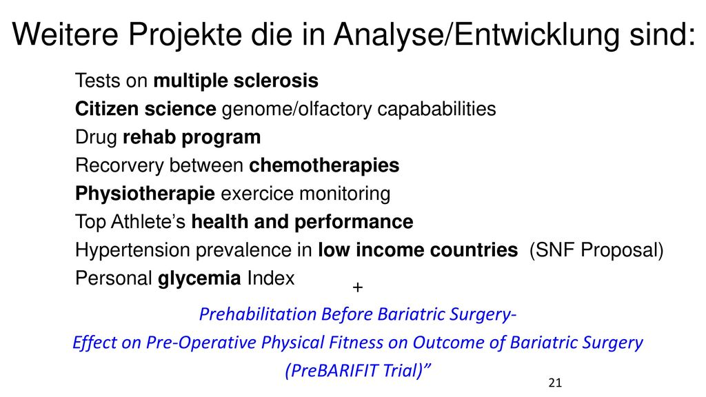 + Prehabilitation Before Bariatric Surgery-