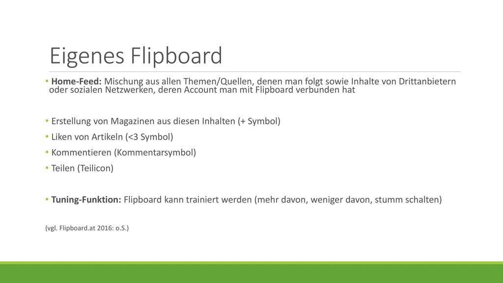 Eigenes Flipboard