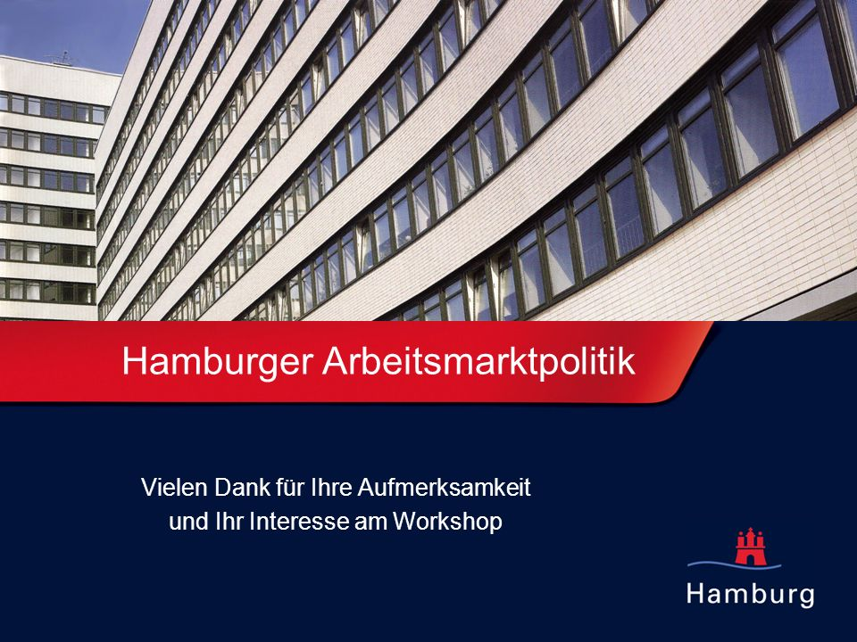 Hamburger Arbeitsmarktpolitik