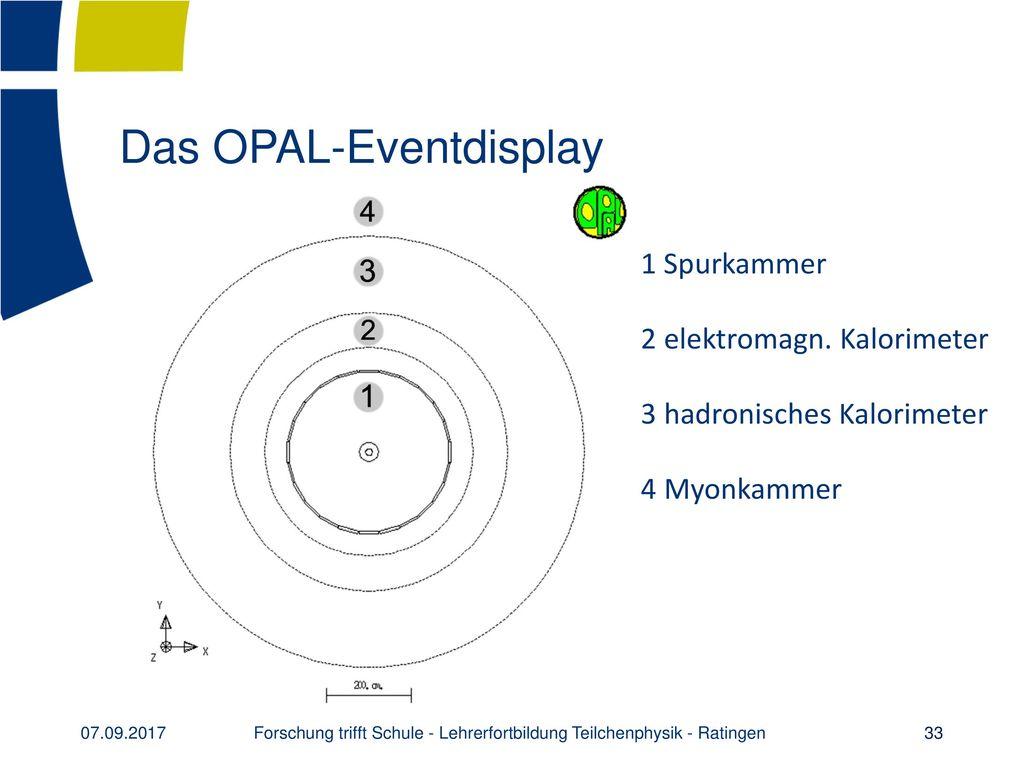 Das OPAL-Eventdisplay