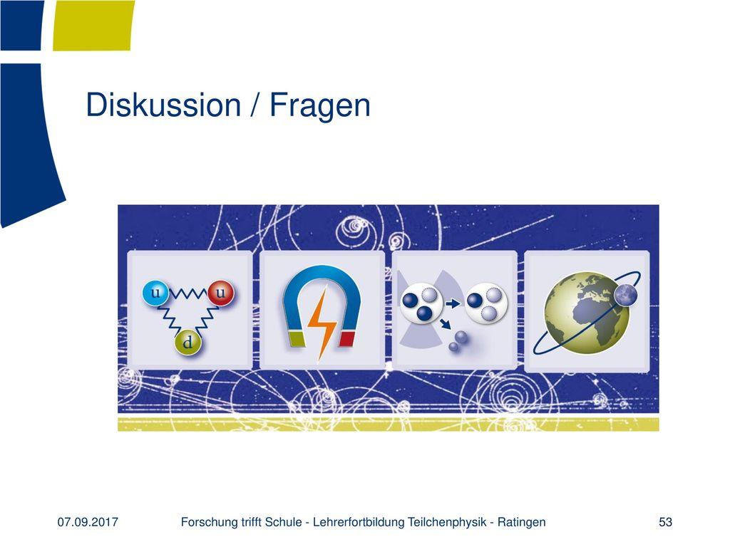 Vielen Dank für Ihre Aufmerksamkeit! www.teilchenwelt.de