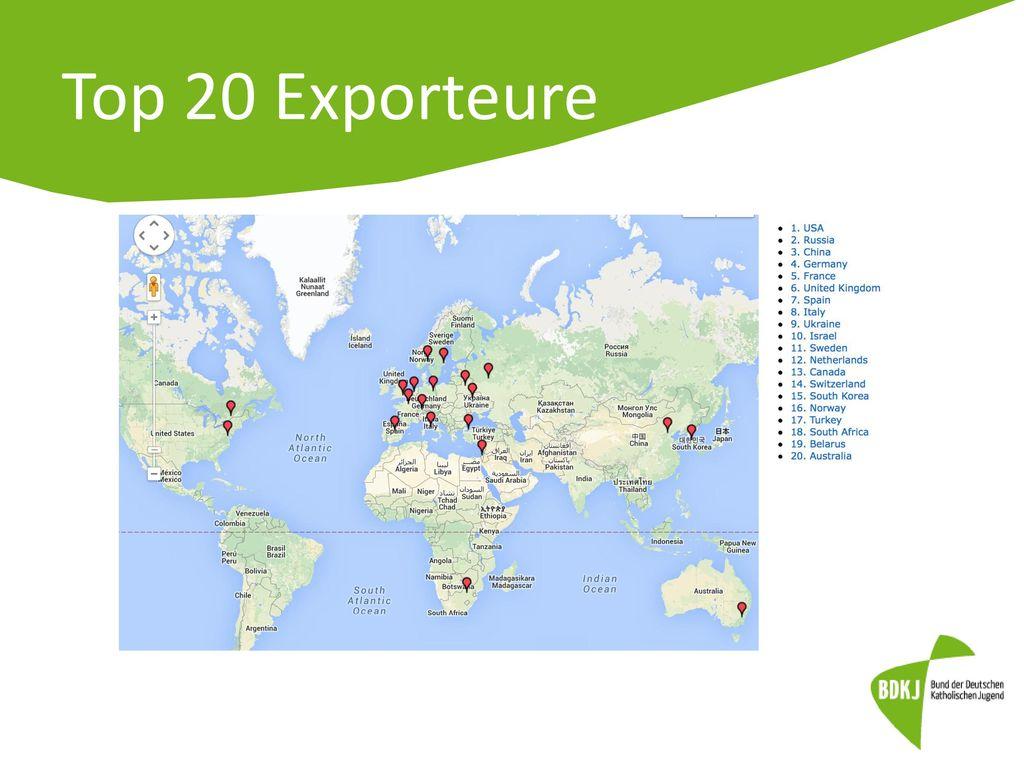 Top 20 Exporteure