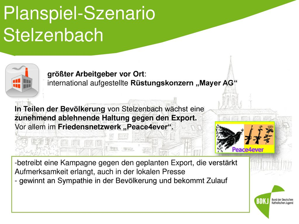 Planspiel-Szenario Stelzenbach