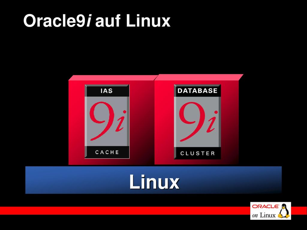 Oracle9i auf Linux Linux